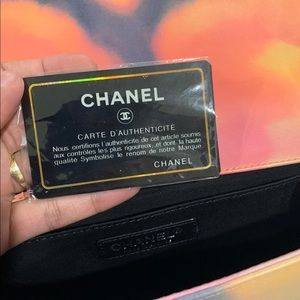CHANEL Bags - Chanel Limited Edition Flower Power Le Boy Bag